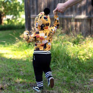 Baby sisu housut musta