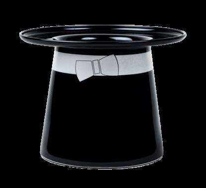Muumipapan hattumaljakko musta